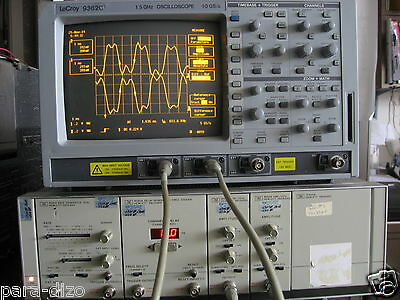 HP8901A 1GHz Pulse Generator Dual Channel WORKS GREAT! 300pS Rise time 1.2 Vpp