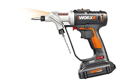 Worx WORX Switchdriver 2-in-1 Cordless Drill and Driver with Rotating Dual