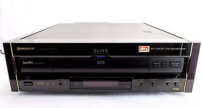 Vintage PIONEER Elite DVL-91 Laser Disc DVD CD Player 1990s Made in Japan