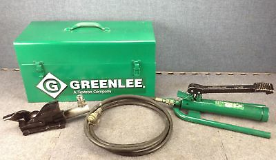 Greenlee 800F1725 Cable Bender With Pump
