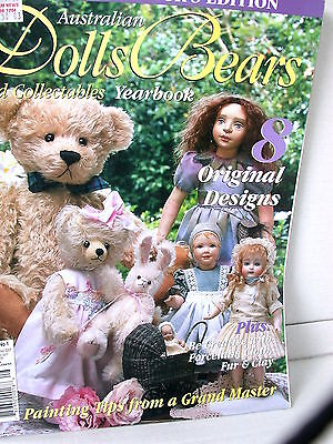 AUST DOLLS BEARS  & COLLECTABLES YEARBOOK  techniques tips ideas  VOL  10   NO 1