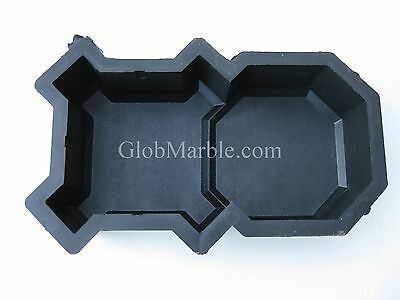 Concrete Mold, Paver Stepping Stone Mold PS 21104. Pavement Stone, Plastic forms