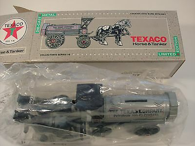 1991 Texaco Horse and Tanker Limited Edition Collector's Series #8