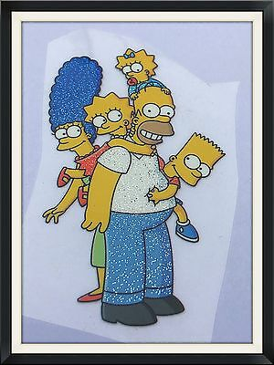 The Simpsons Family Iron On Heat Transfer DIY Sticker Vinyl Clothing Accessories