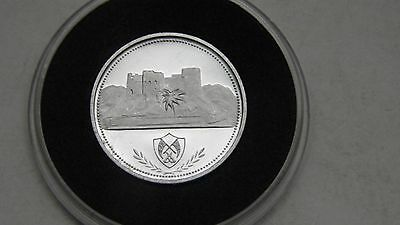 Fujairah 1 Riyal 1969 Desert Fort Silver Proof coin