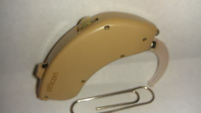 Oticon 380P super power BTE Hearing Aid with Tel-coil with Warranty