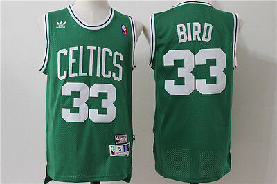 Camiseta Larry Bird #33 Boston Celtics, todas las equipaciones.