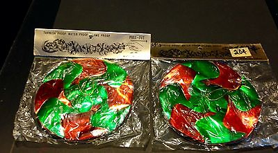 "Lot of 2 Vintage Christmas Garland Decoration 9ft long ""Pull-Out and Hang"" NIP"