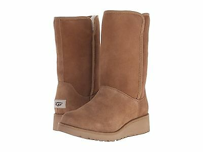 Women's Shoes UGG Classic Slim Amie Short Boots 1013428 Chestnut *New*