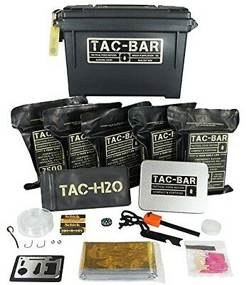 Tac-Bar - Ready to Eat Tactical Food Rations for 5 Days (12,500cals) with 10