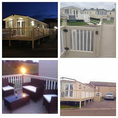 Platinum static caravan For Holiday Hire On Golden Sands North Wales