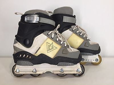Size 6 - ROLLERBLADE Downtown TRS Aggressive INLINE SKATE Mens Boys Retro Street