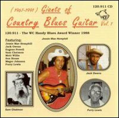 Vol. 1-1967-91-Giants Of Count - G (2001, CD NEUF) Chatmon/Lewis/SON House/Owens