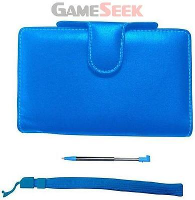 Pair&go Nintendo 3Ds Luxury Protector Case Accessory Pack +Stylus+Wrist Strap -