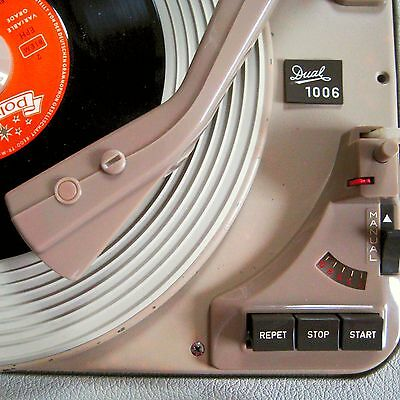 * DUAL Party 1006 Vintage Hifi Stereo Plattenspieler Record Player Changer 50s