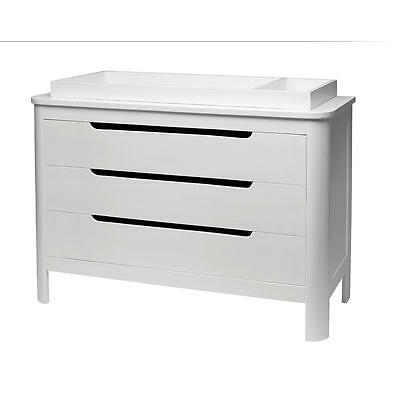 Sorelle Chandler 3 Drawer Dresser - White
