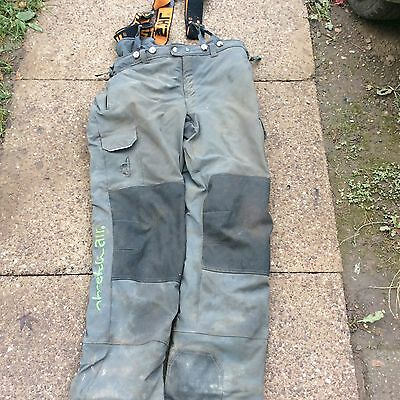 Pfanner Stretch Air Arborist Chainsaw Trousers Type C (Grey) Size large
