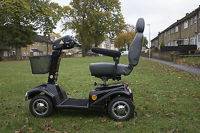 Rascal 388 XL 8mph Mobility Scooter NEW BATTERIES