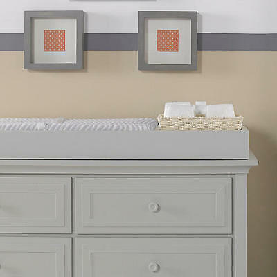 Ti Amo Palazzo Changing Topper - Misty Grey