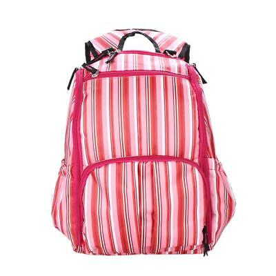 Multifunction Mummy Travel Diaper Nappy Bag Backpack Changing Bags Pink