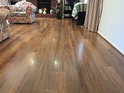 Spotted Gum 12mm Laminate Flooring Purchased from Fowles