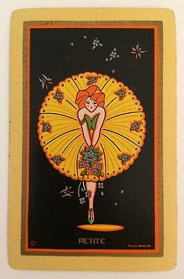 Vintage Swap/Playing Card - NAMED LADY - PETITE