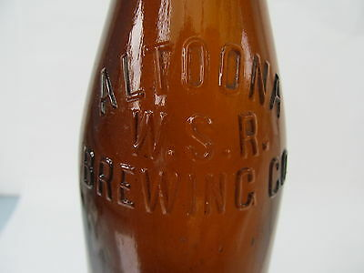 Altoona Brewing Co Beer Bottle Altoona PA Amber Blair County Pennsylvania