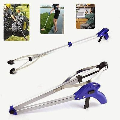 "32"" Folding Grabber Pick Up Tool Reacher Extend Easy Reaching Stick Trash Stick"