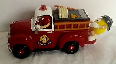 M&M Limited Edition, Five Alarm Fun, Fire Truck Candy Dispenser