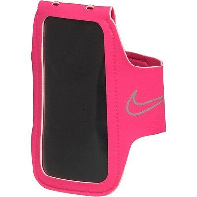 Nike Womens Unisex Lightweight Running Gym Sports Arm Band 2.0 Hot Pink BNWT