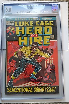 Luke Cage Hero For Hire 1 CGC 8.0