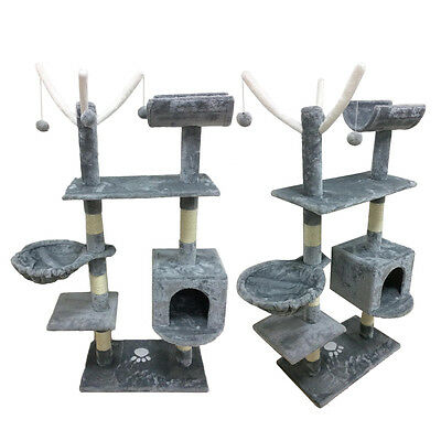153CM Cat Tree Tower Condo Furniture Scratching Post Pet Kitty Play House Toy