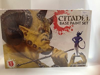 60-22 Warhammer Citadel Base Paint Set Brand New Factory Sealed
