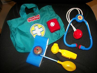Fisher Price Doctor Kit - Play Pretend Fun Toy  -    Great Gift