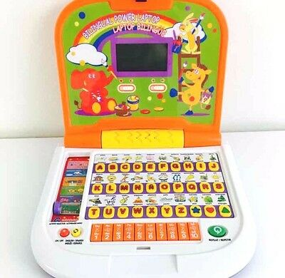 Winfun Bilingual English/spanish Toy Power Laptop Computer For Kids Learning