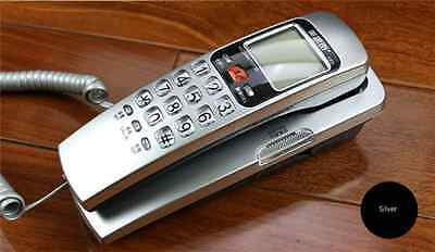 New Corded Push Button wall mount Hotel and Bathroom Telephone Easy Use