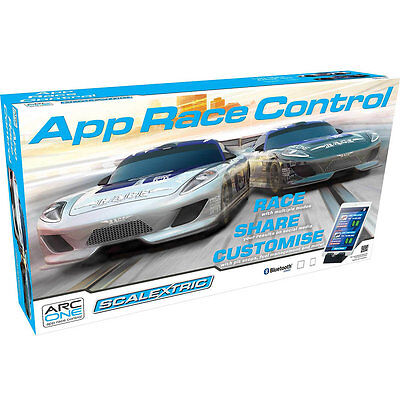 Scalextric App Race Control Slot Car Racing 1:32 Scale Playset