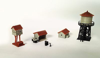 Outland Models Train Railway Layout Trackside Building Set Z Scale 1:220