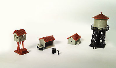 Outland Models Train Railway Layout Trackside Building Set N Scale 1:160