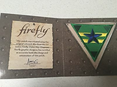 Firefly Independents Patch December 2016 Lootcrate Exclusive