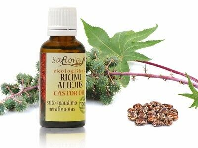 Castor Oil 30 ml / 1.1 oz | 100% Pure Organic Virgin