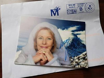 ABBA Frida - (Annifrid Lyngstad ) autograph, signed in June 2016.