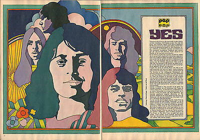 Yes - Photo's + Articles  From Dutch Music Magazines 1972