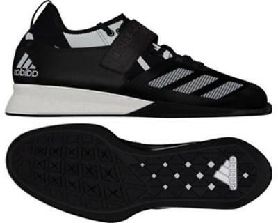 Adidas Crazy Power Weightlifting Shoes - Black Deadlift Squats  BA9169