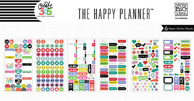 Me & My Big Ideas Create 365 The Happy Planner To Do Brights Stickers PPS-51