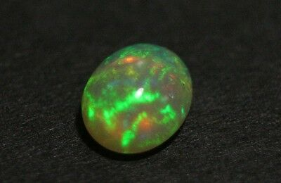 2ct Welo Crystal Opal Cabochon - Neon Flash AAA Jelly Opal - See Video