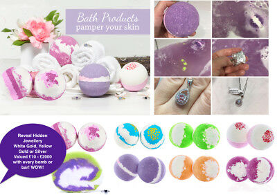 Imperial Candles Bath Bomb or Bubble Bar Variety of Fragrances and Hidden Jewel