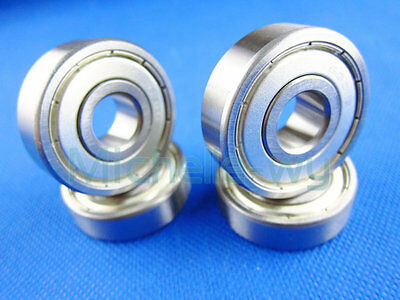 10 Balls Bearing Scroll Ball Bearings 17mm*35mm*10mm Deep Groove 6003ZZ