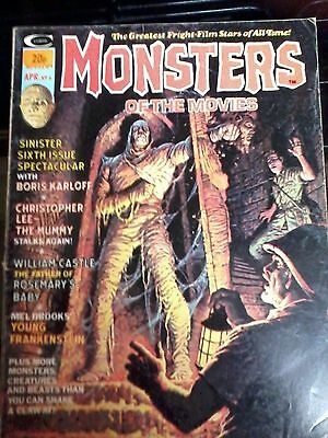 Monsters of the Movies magazine issue no. 6 ( Stan Lee )