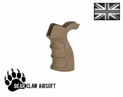 Kings Arms style G27 profiled grip for M4/M16 Series Airsoft Rifles Tan